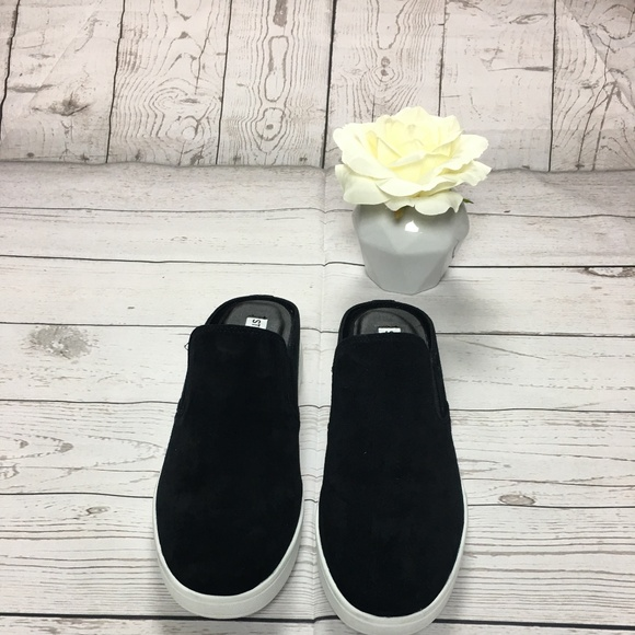 7082cda8d56 NWOT Steve Madden Glenda Sneaker Black Mule 8.5 NWT